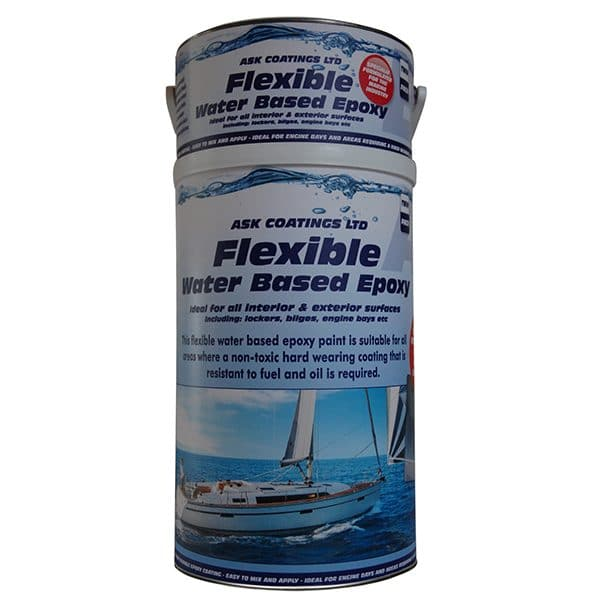 Water Based Marine paint 5 litre white